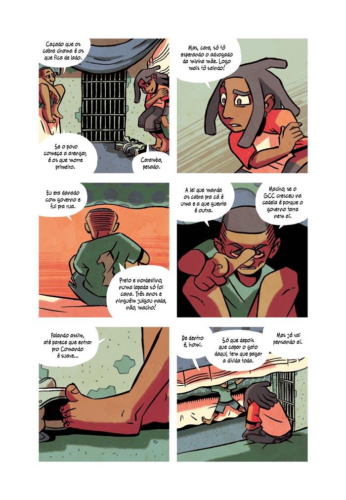 Tinta Fresca: Linha de Frente (Página)
