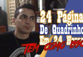 Meu Vídeo do Congresso Online de Quadrinhos