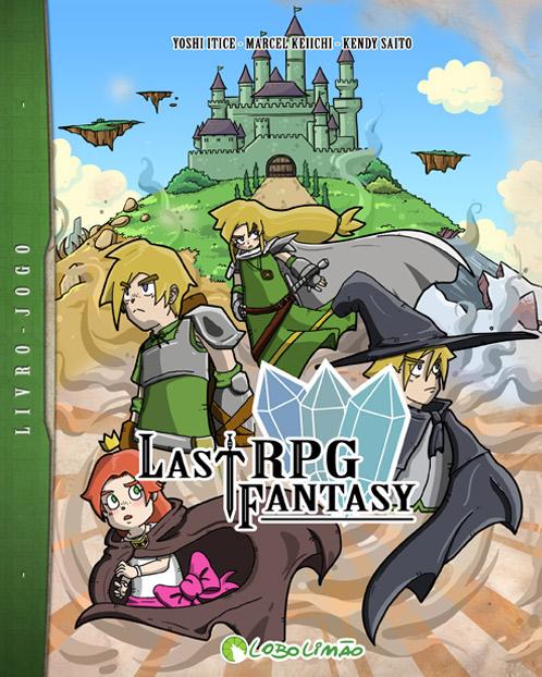 Resenha: Last RPG Fantasy |  ( historia, jogo, livro, Lobo Limão, quadrinhos, rpg)