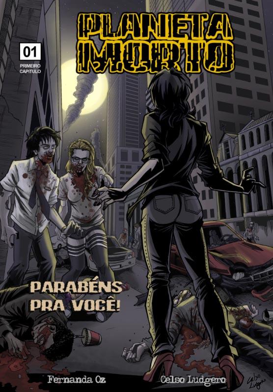 Planeta Morto #1    ( download, grátis, morto, online, planeta, quadrinhos, sao paulo, zumbi)
