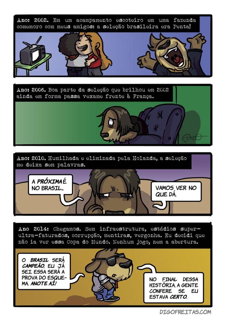 Brasil Rumo a Quê? Pág. 0 |  ( 2014, brasil, copa, mundo, naovaitercopa, quadrinhos, Tirinhas, vaitercopa, webcomic)