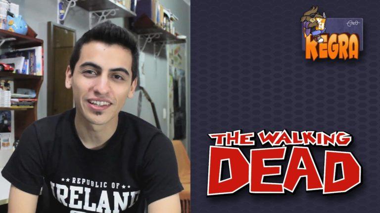 Digo KH Regra #1 – The Walking Dead |  ( jogo, livro, melhor, quadrinhos, série, temporada, the walking dead, vídeo)