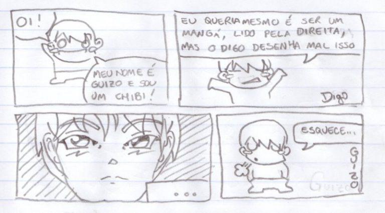 Guizo #1 – Bem-vindos! |  ( chibi, Guizo, Tirinha, Tirinhas)