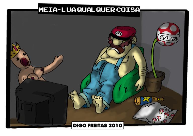 MLQC #1 – Mario da vida real |  ( bros, jogo, mario, tirinha, Tirinhas, videogame)