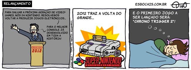 ADEM #20 – Relançamento |  ( 2, 2012, cama, chrono trigger, console, dormindo, geração, snes, sonho, super nintendo, Tirinha, Tirinhas, videogame)