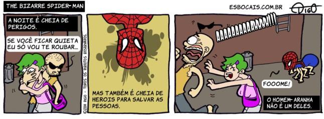 SS #29 – The Bizarre Spider-Man |  ( assalto, bizarro, homem-aranha, spider-man, Tirinha, Tirinhas)