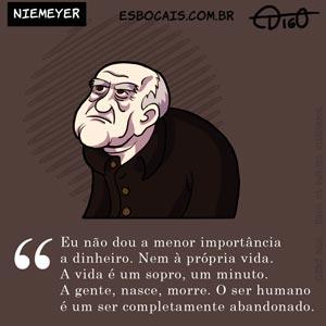 Especial #31 – Niemeyer    ( 2012, charge, morte, niemeyer, oscar, Tirinhas)