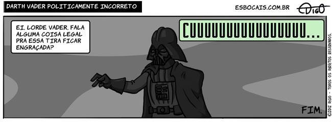 SS #48 – Darth Vader politicamente incorreto |  ( darth vader, day, engraçado, legal, star wars, Tirinha, Tirinhas)