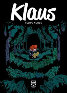 Klaus    ( balão editorial, crítica, felipe nunes, história em quadrinhos, livro)