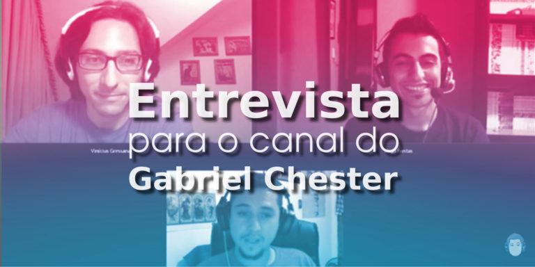 Entrevista para o Canal do Gabriel Chester    ( catarse, história em quadrinhos, independentes, tinta fresca)